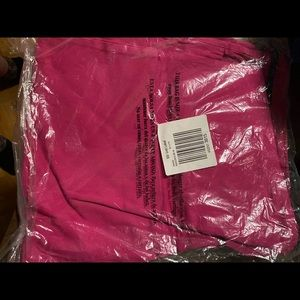Cranberry colored jeans brand new sealed with belt